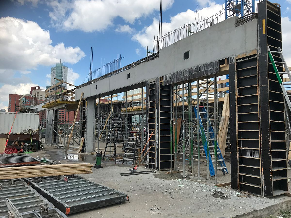 Bay House construction news September 2, 2020